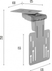 Zobrazit detail - Držák na menší TV/monitory OMB OYSTER