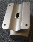 PUNTO - Kvalitní držáky na reproduktory, otočný, nosnost 25 kg, barva stříbrná OMB
