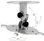 Monoprojektor - Stropní držák na projektor, vzdálenost od stropu 15 cm, otočný, sklopný, nosnost 15 kg OMB