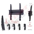 """TILT600 - Náklopný držák na zeď pro TV 32"""" až 55"""", vzdálenost od stěny 36 mm, náklon 12°, nosnost 60 kg. OMB"""