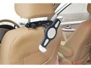 Držák na tablety a iPady do auta, uchení za hlavovou opěrku sedadla Fiber Mounts M68C1