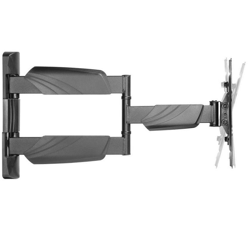 Televizní držák Fiber Mounts DF4 umožní nejen naklápění Tv dolů nebo nahoru, ale i otáčení do stran a vysouvání nebo zasouvání Tv ke zdi