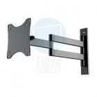 Vynikající držák na malou Tv nebo monitor, otočný, sklopný a výsuvný od zdi Fiber Novelty FN101