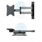 Otočný sklopný výsuvný držák monitoru nebo malé televize Fiber Novelty FN101