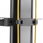 Vedení kabeláže na Tv stojanu Fiber Novelty FN5000