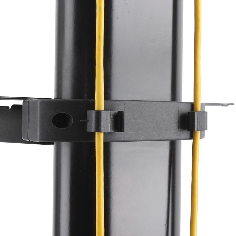 Úchytky na kabeláž na televizním stojanu Fiber Novelty FN5000