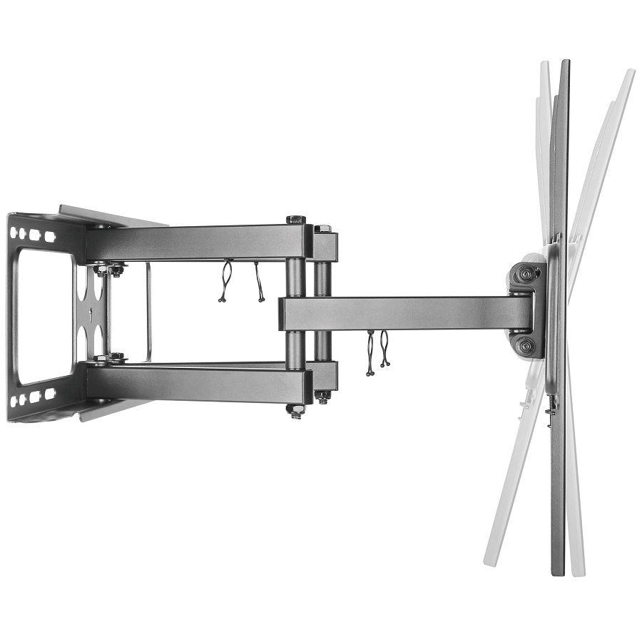 Levný nástěnný držák na Tv, který umožňuje snadné polohování televize dle potřeby Fiber Mounts Solid-1