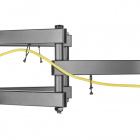 Úchytky na kabeláž na držáku Tv Fiber Mounts Solid-1