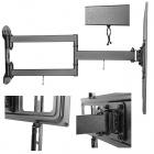 Kvalitní přesto levný držák na Tv s výbornou konstrukcí Fiber Mounts LONG61
