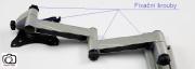 Držák Tv s fixací polohy Fiber Mounts M6C75 - fixační šrouby na Tv držáku