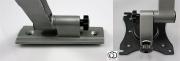Kvalitní konstrukce a velmi pěkný dizajn držáku pro instalaci Tv do karavanu nebo lodi Fiber Mounts M6C75