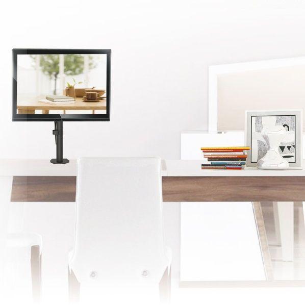 Stolový kancelářský levný držák na monitor Fiber Mounts M7C51