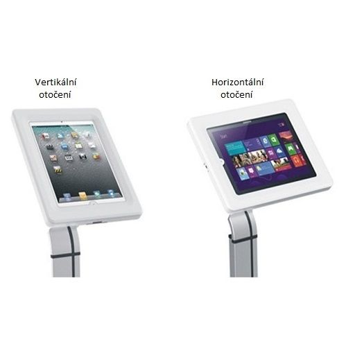 Stolní stojánek držák uzamykatelný na tablet iPad Fiber Mounts M6C44