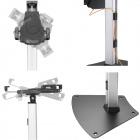 Otočný, sklopný stolní stojan na tablet, iPad