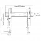 Fiber Mounts Thin20 - profesionální sklopný držák na televizi