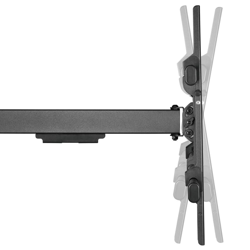 Velmi dlouhý otočný držák Tv 43-80 palců Ergosolid Largo lze i naklápět nahoru nebo dolů