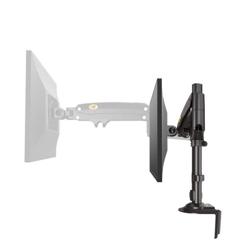 Otočný, sklopný a výškově nastavitelný stolní držák monitoru