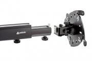 Výškově nastavitelný stropní držák projektoru, otočný, sklopný EDBAK PMV300
