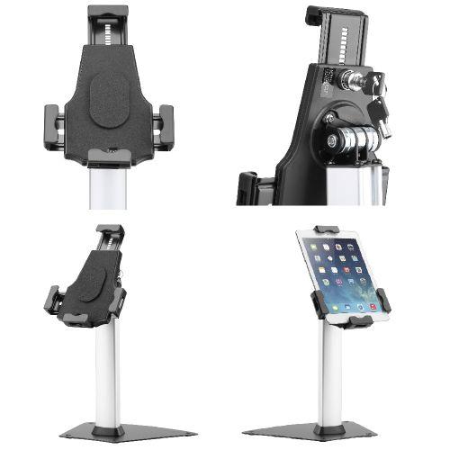 Uzamykatelný stolní stojan na tablet, iPad