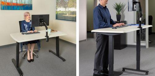 Pracovní stůl s výškovým nastavením ErgoSolid SR14B
