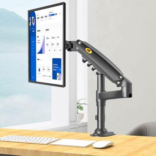 Polohovatelný stolní držák s výškovým nastavením monitoru
