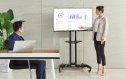 Levný pěkný spolehlivý stojan na televizi Fiber Mounts AVA1500