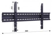 Nástěnný sklopný držák Tv 37-65