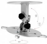 Monoprojektor30 - Stropní držák na projektor s délkovou nástavbou 30-50cm OMB
