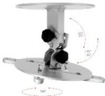 Stropní držák na projektory s nast. vzdáleností od stropu 50 - 90cm OMB