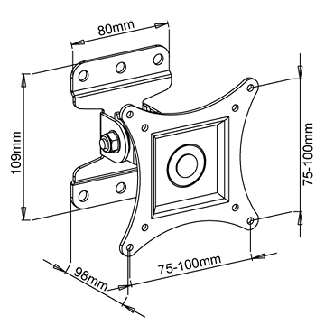 Držák otočný Stell Sho 1100