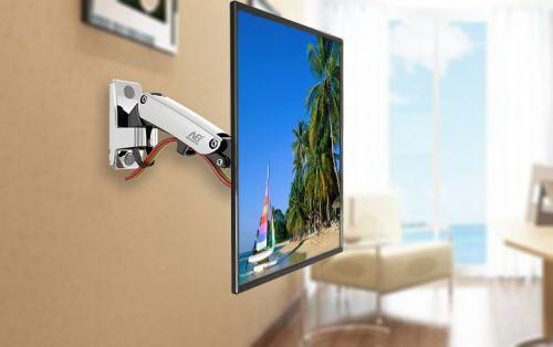 Výškově stavitelný držák LCD monitoru Fiber Mounts F120