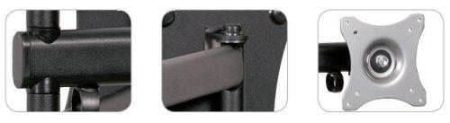 Klubový držák na monitory - detail Edbak GD26
