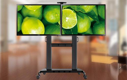 Pojízdný televizní stojan na dva televizory AVT1800-60-2A