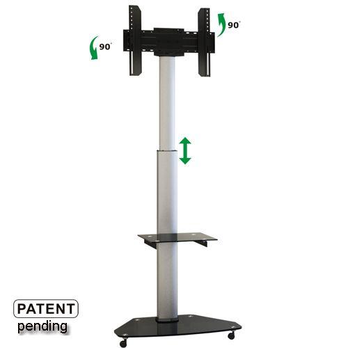 Pojízdný televizní stojan na LCD/LED televize Fiber Novelty FN01
