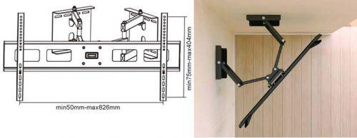 Držák vhodný do rohu místností FN13