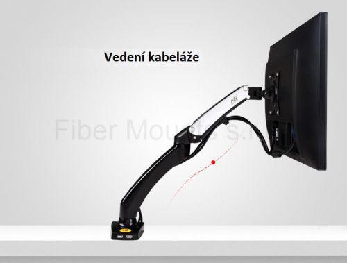 Držák na monitor Fiber Mounts F100 vedení kabeláže