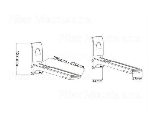 Držák na mikrovlnku Fiber Mounts MC607