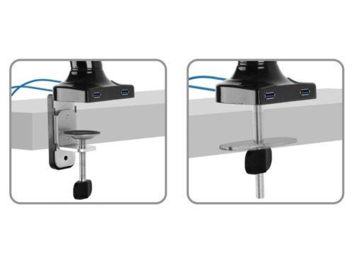Dva způsoby uchycení ke stolové desce