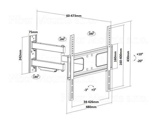 Kloubový držák Fiber Mounts MC647