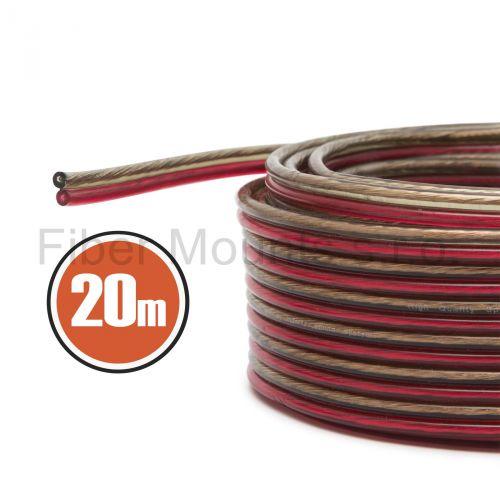 Kabel na zapojení reproduktoru v délce 20m