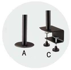 Možnosti uchycení na stolovou desku