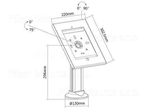 stolní stojan na tablet MC677