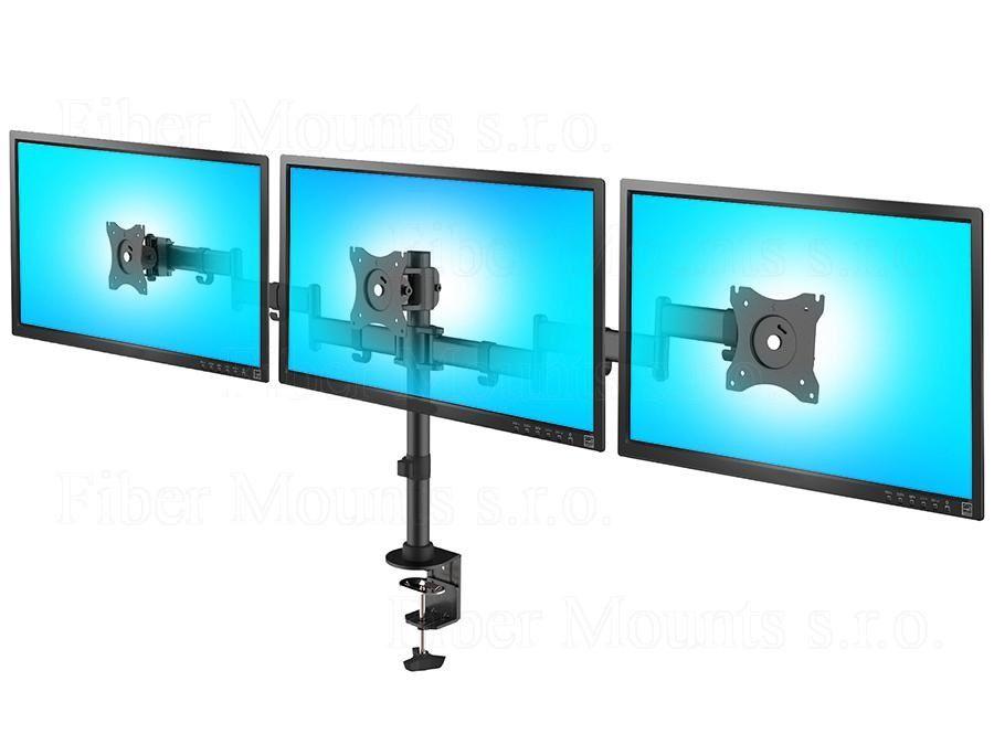 SDM691_stolní_držák_na_tři_monitory