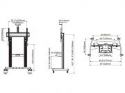 Stojan AVT1800-100-1P nákres
