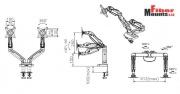 Parametry držáku F160