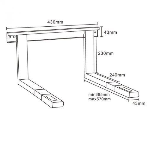 Parametry držáku Cabletech MB-2