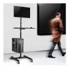 """MC793 - Pracovní PC stanice na LCD monitory 17"""" - 32"""", VESA 75x75 a 100x100, nosnost 20 kg"""