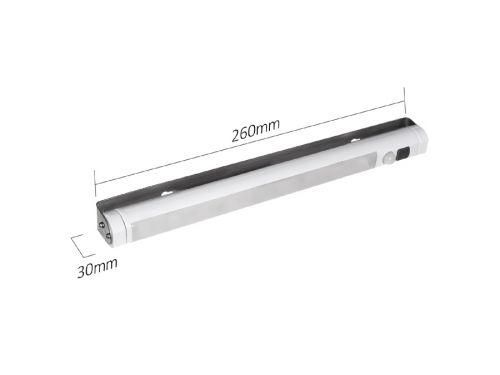 LED osvětlení kuchyňské linky, šatníku