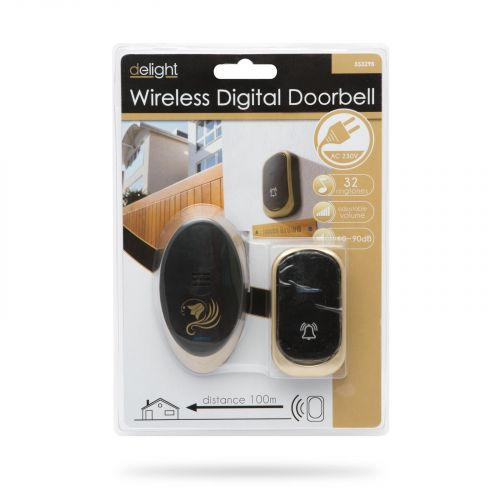 Balení bezdrátového moderního zvonku Doorbell 55329B