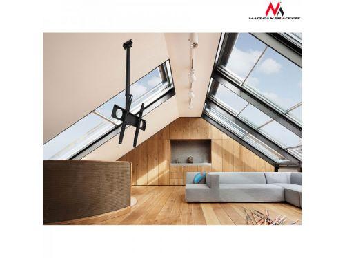 Stropní držák s možností instalace na šikmé stropy